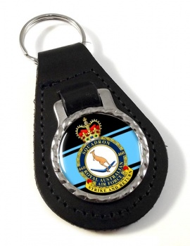 460 Squadron RAAF Leather Key Fob