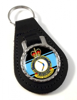 6 Squadron RAAF Leather Key Fob