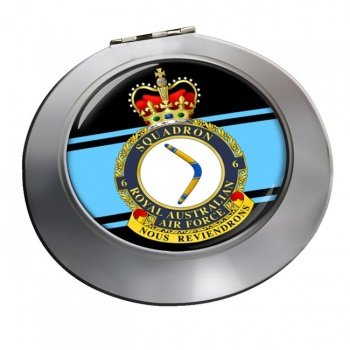 6 Squadron RAAF Chrome Mirror