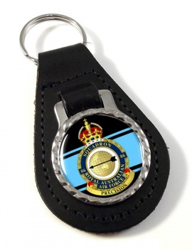 86 Squadron RAAF Leather Key Fob
