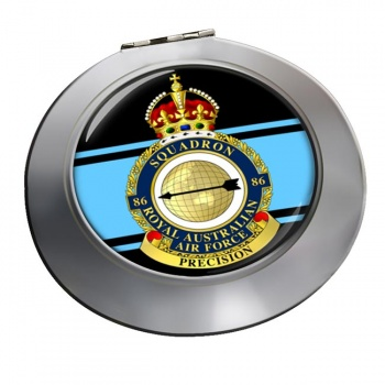 86 Squadron RAAF Chrome Mirror