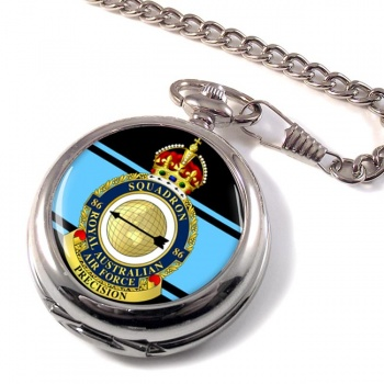 86 Squadron RAAF Pocket Watch