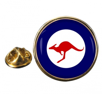 RAAF Roundel Round Pin Badge