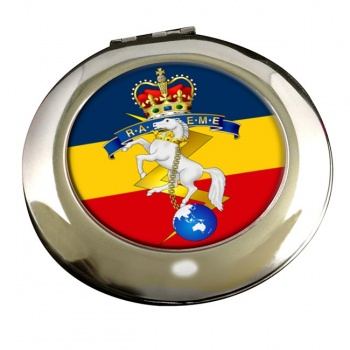 Royal Australian Electrical and Mechanical Engineers Chrome Mirror