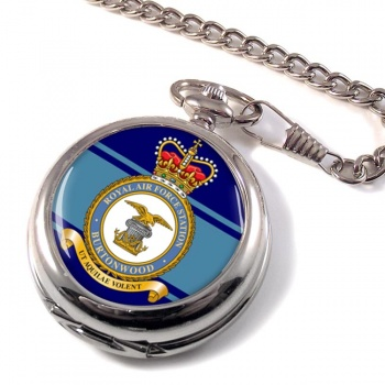 RAF Station Burtonwood Pocket Watch