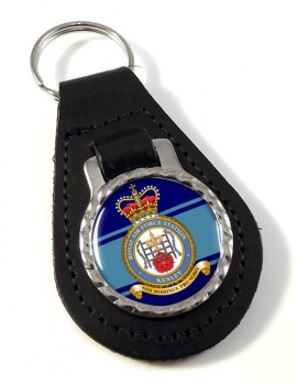 RAF Station Kenley Leather Key Fob