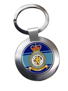 RAF Station Menwith Hill Chrome Key Ring