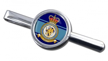 RAF Station Menwith Hill Round Tie Clip