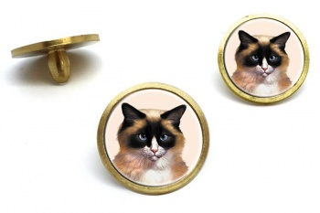 Ragdoll Cat  Golf Ball Marker Set