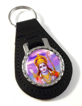 Rama Leather Keyfob