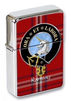 Ramsay Scottish Clan Flip Top Lighter