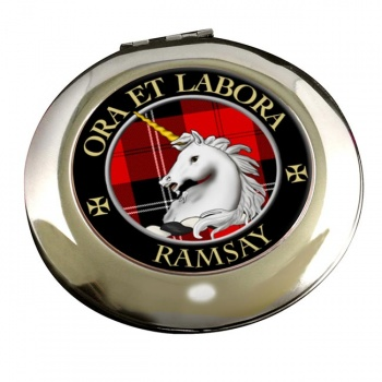 Ramsay Scottish Clan Chrome Mirror