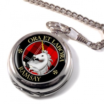Ramsay Scottish Clan Pocket Watch