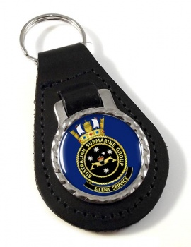 Submarines Group R.A.N. Leather Key Fob