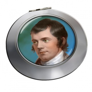 Robbie Burns Chrome Mirror