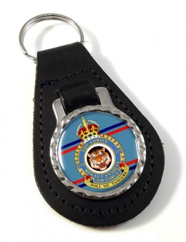 119 Squadron RCAF Leather Key Fob