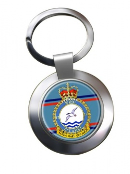 12 Wing RCAF Chrome Key Ring