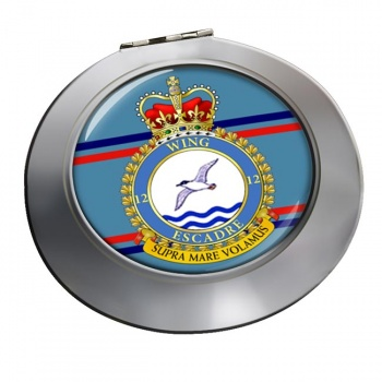 12 Wing RCAF Chrome Mirror