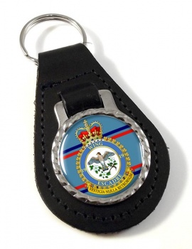 19 Wing RCAF Leather Key Fob