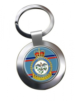 19 Wing RCAF Chrome Key Ring