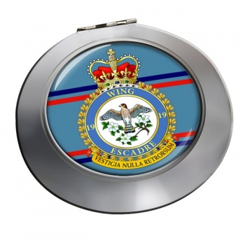 19 Wing RCAF Chrome Mirror