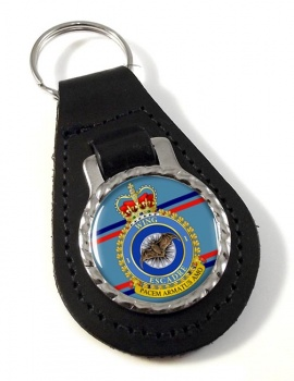1 Wing RCAF Leather Key Fob