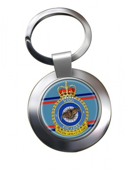1 Wing RCAF Chrome Key Ring
