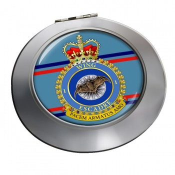 1 Wing RCAF Chrome Mirror