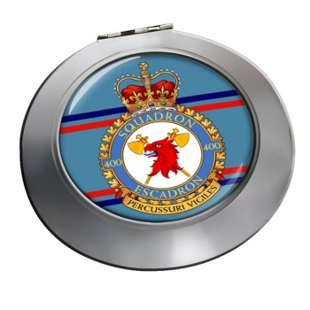 400 Squadron RCAF Chrome Mirror