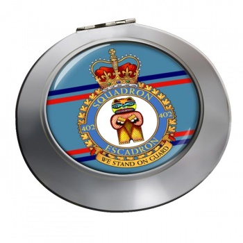 402 Squadron RCAF Chrome Mirror