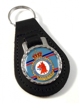 403 Squadron RCAF Leather Key Fob