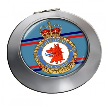 403 Squadron RCAF Chrome Mirror