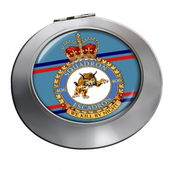 406 Squadron RCAF Chrome Mirror