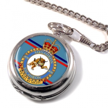 406 Squadron RCAF Pocket Watch