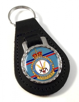 407 Squadron RCAF Leather Key Fob