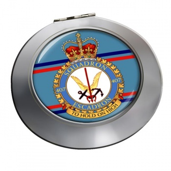 407 Squadron RCAF Chrome Mirror