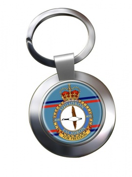 408 Squadron RCAF Chrome Key Ring