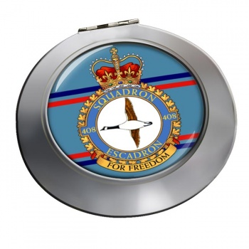 408 Squadron RCAF Chrome Mirror