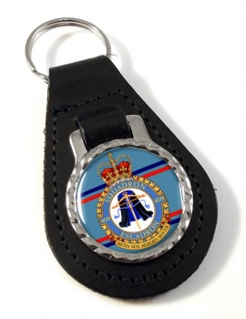 409 Squadron RCAF Leather Key Fob