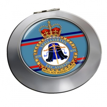 409 Squadron RCAF Chrome Mirror