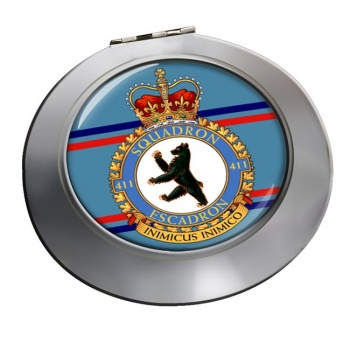 411 Squadron RCAF Chrome Mirror