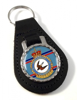 412 Squadron RCAF Leather Key Fob