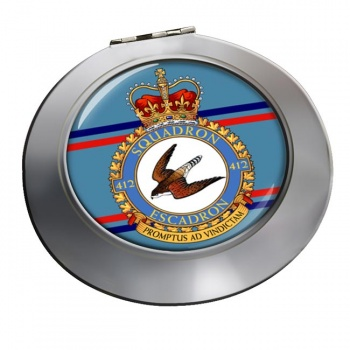 412 Squadron RCAF Chrome Mirror