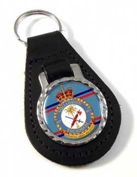 417 Squadron RCAF Leather Key Fob