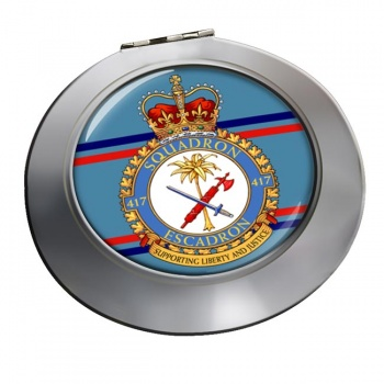 417 Squadron RCAF Chrome Mirror