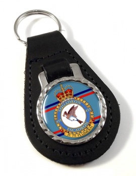 425 Squadron RCAF Leather Key Fob
