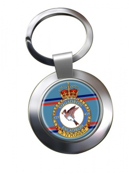 425 Squadron RCAF Chrome Key Ring