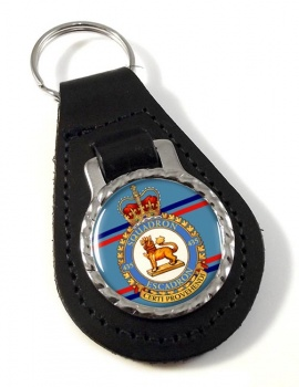 435 Squadron RCAF Leather Key Fob