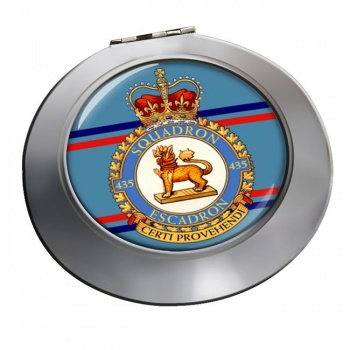 435 Squadron RCAF Chrome Mirror