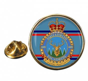 448 Squadron RCAF Round Pin Badge
